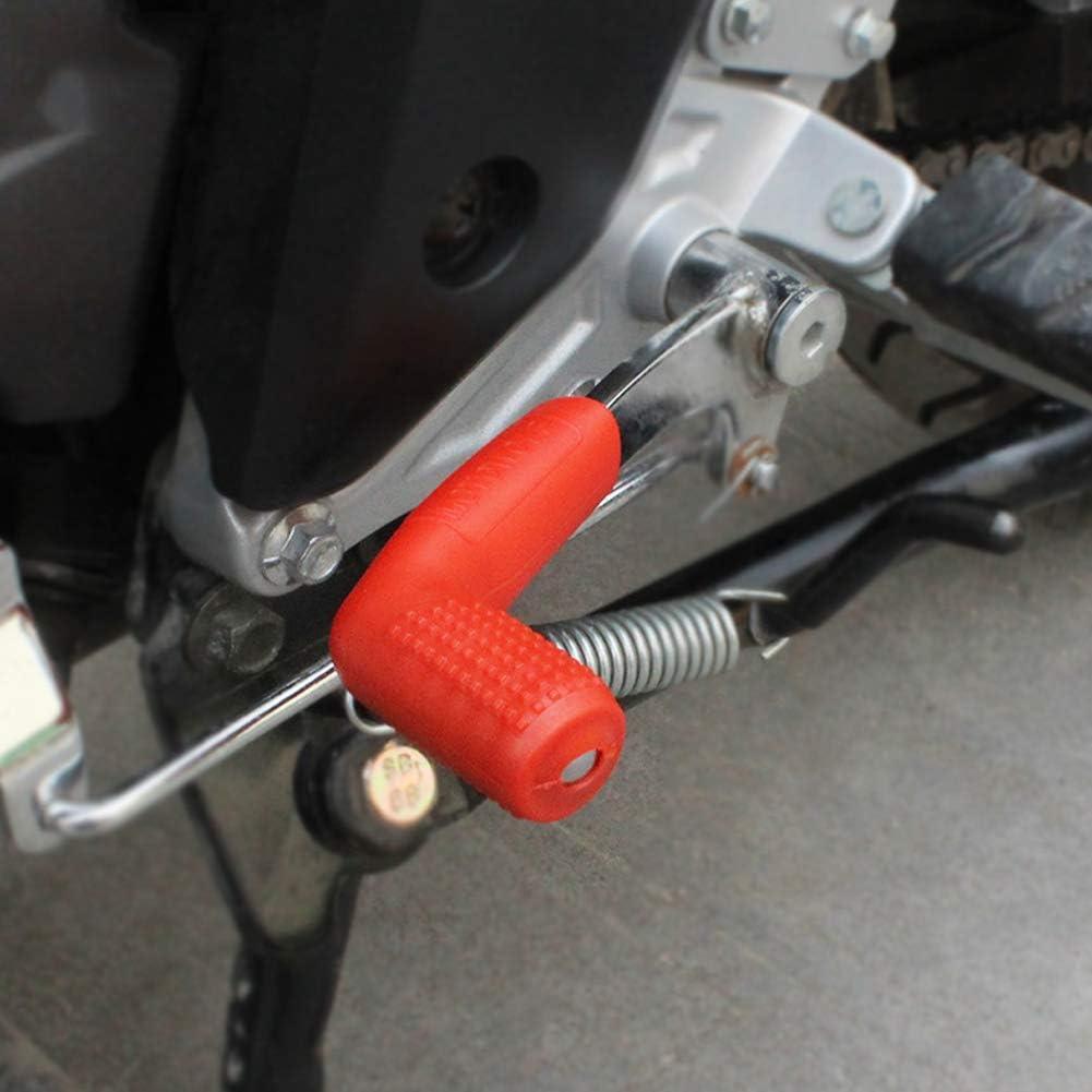 YlRNhe Funda Protectora Universal para Palanca de Cambios de Motocicleta Protector de Palanca de Cambios Antideslizante