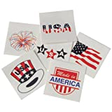 DollarItemDirect Patriotic Temporary Tattoos , Sold by 15 GROSSES