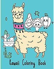Kawaii Coloring Book: VOL1- More Than 55 Fun & Relaxing Kawaii Colouring Pages For All Ages (Coloring Pages for Kids & Adults)