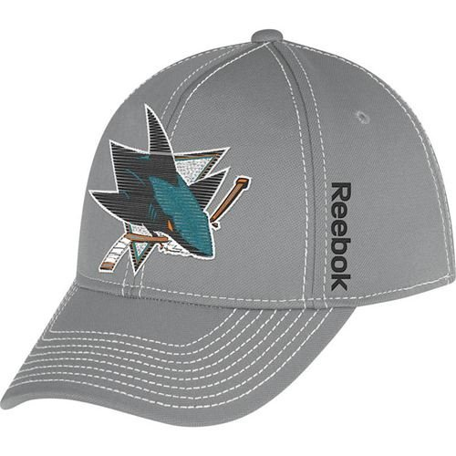 Reebok San Jose Sharks NHL 2nd Season Hat Gray L/XL - M251Z