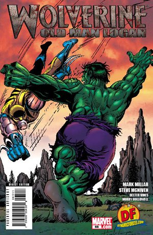 (WOLVERINE #66 - FEATURING AN AMAZING DF EXCLUSIVE VARIANT COVER BY ORIGNAL WOLVERINE ARTIST (FROM INCREDIBLE HULK #180, #181 AND #182) - LIVING LEGEND - HERB TRIMPE!)