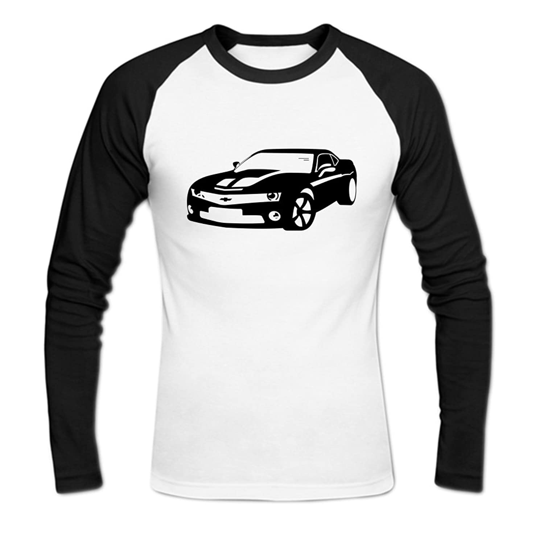 Chevy Chevrolet Camaro Mens Baseball Shirts