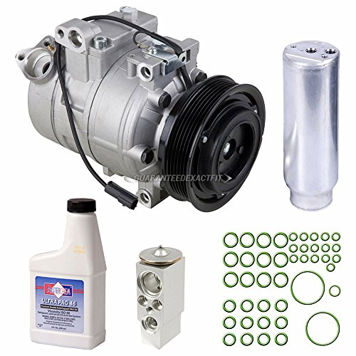 AC Compressor w/A/C Repair Kit For Porsche Boxster & Cayman 986 987 - BuyAutoParts 60-89790RK New