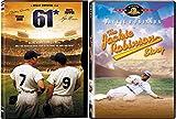 Baseball Combo - 61* (Roger Maris) & The Jackie Robinson Story 2-Movie Bundle