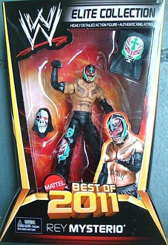 WWE Elite Collector Best of 2011 Series Rey Mysterio Figure (Rey Mysterio Wwe)