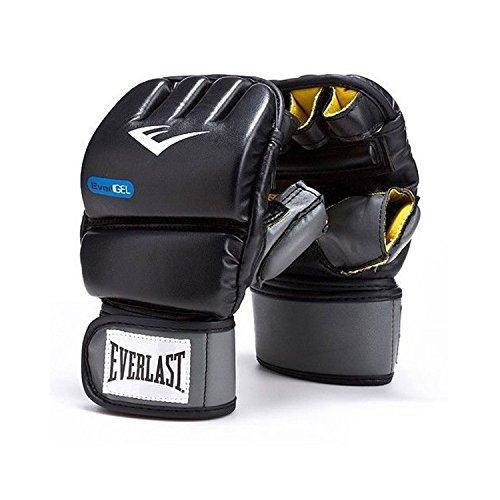 Everlast Men's Evergel Wrist Wrap Heavy Bag Gloves, Black, X-Large