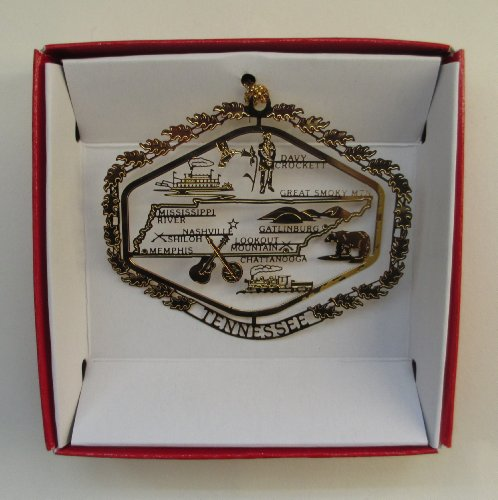 - Tennessee State Christmas ORNAMENT Souvenir Gift