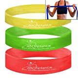 Loop Resistance Bands for Exercise – 3 Power Levels – Strong Stretch – Flat for Comfort – Free Bonus Band for Arms and Workout Video Download – Best Heavy Duty Smooth Latex for Crossfit, P90x, Beachbody, Pilates , Therapy – Durable with Lifetime Warranty Review