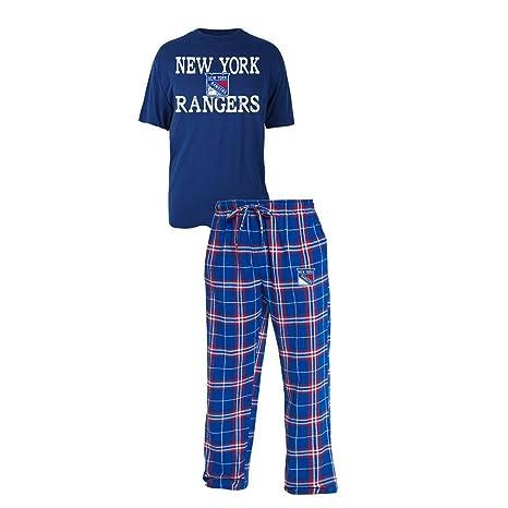 best service 6652b 3f505 Amazon.com : Concepts Sport New York Rangers NY Men's Pajama ...
