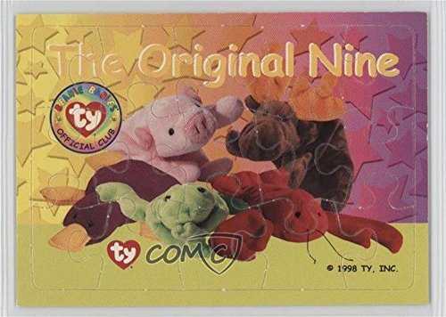 The Original Nine (Trading Card) 1998 Ty Beanie Babies Series 1 - Puzzles #TON