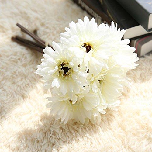 Baixue Blumen Und Bluten Gro Gerbera Blumen Hochzeit Blumen Milchig