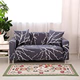 Forcheer Stretch Couch Covers Sofa Slipcovers Fitted Loveseat Cover Seat Furniture Protector (Printed #2 ,4 Seat for 235-300cm)