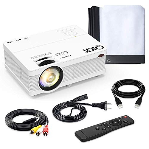 Over $53 in savings on a portable mini projector & screen compatible with smartphone