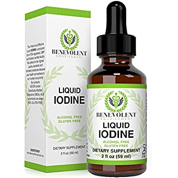 Iodine drops weight loss