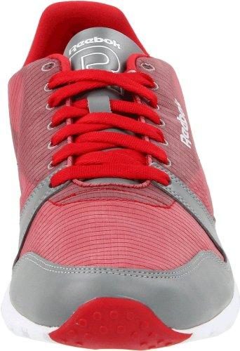 Reebok Mens Classic Ultralite Pkbl-m Sneaker Ottimo Rosso / Flat Grigio / Bianco