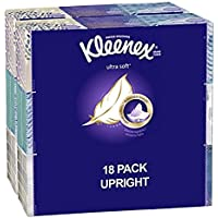 18-Pack Kleenex Ultra Soft Facial Tissues Box