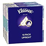 Health & Personal Care : Kleenex Ultra Soft Facial Tissues; 75 Tissues per Cube Box; 18 Count