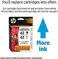 HP 62 Negro & Tri-color inscripción Instant Kit de tinta con ...