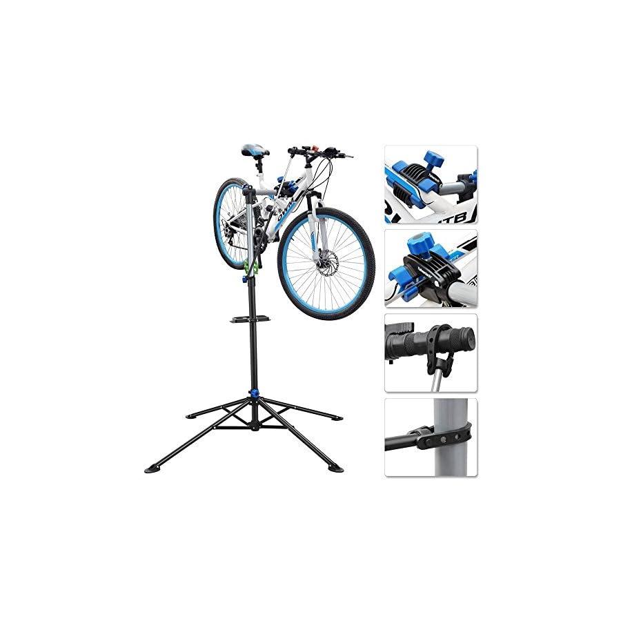Topeakmart Pro Mechanic Bike Repair Rack Adjustable Bicycle Work Stand
