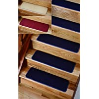 Solid Blue Rug Carpet Stair Treads Set Of 4