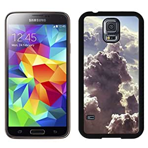 Fashionable And Unique Designed Cover Case For Samsung Galaxy S5 I9600 G900a G900v G900p G900t G900w With Above Storm Clouds_Black Phone Case
