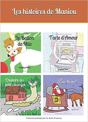 Les Hitoires De Maniou Format Poche 4 Livres Jeunesse En
