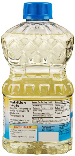 AUTHENTIC Crisco Pure Vegetable Oil, 32 Fl Oz Free ...