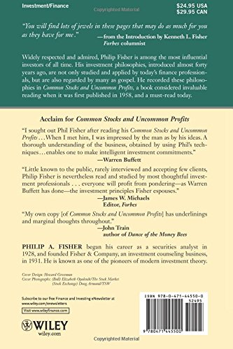 Common Stocks and Uncommon Profits and Other Writings (Wiley ...