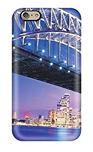Iphone 6 Hard Back With Bumper Silicone Gel pc Case Cover Beautiful Sydney Bridge