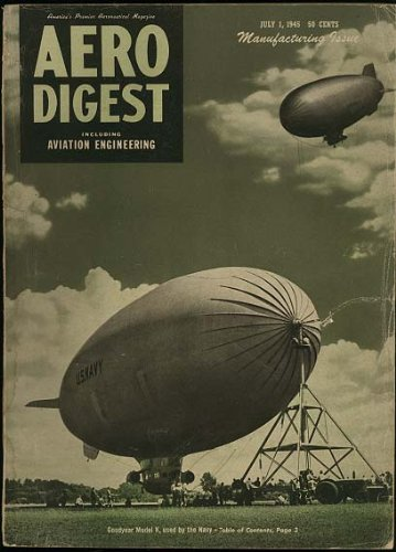 Aero Digest Aeronautical Engineering Magazine (July, used for sale  Delivered anywhere in USA
