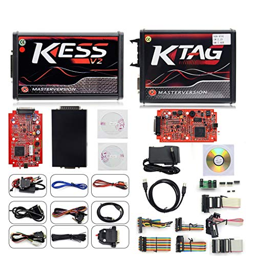 WL Kess V5.017 OBD2 + Ktag V7.020ecu Programmer Programming Tool Unlimited Point Unlimited Token Support Universal Car, Truck, Tractor ()