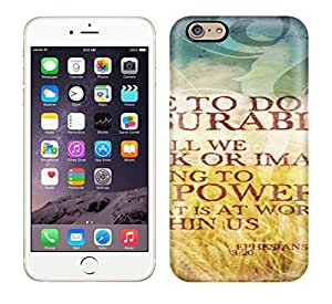 New Arrival Premium Iphone 6 Case(To Him Who Is Able To Do Immeasurably More) by ruishername