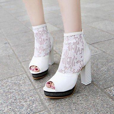 Las mujeres sandalias de verano caen comodidad ligera suela exterior de piel sintética PU Oficina &parte de carrera&Vestido de Noche Casual talón plano Borla Black