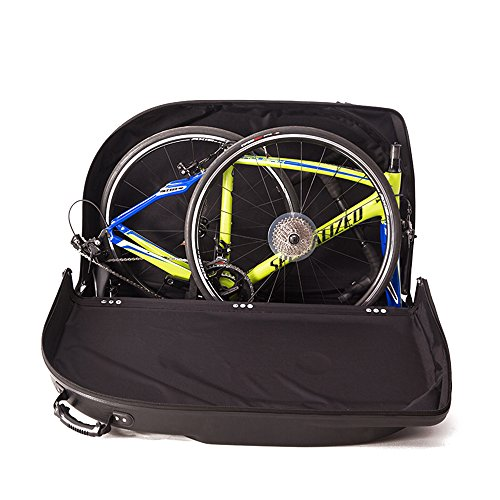 Muses Poem Bike Travel Case for 26''/700C Mountain Road Bicycle Travel Transport Equipment Black by Muses Poem (Image #7)