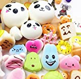 60pcs Jumbo medium mini pack slow rising cheap squishies kawaii Stress Relief collection gift squishy toy
