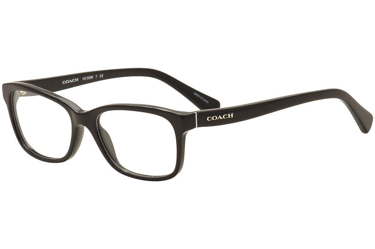95ce78894eec Amazon.com  Coach Women s HC6089 Eyeglasses Black 49mm  Clothing
