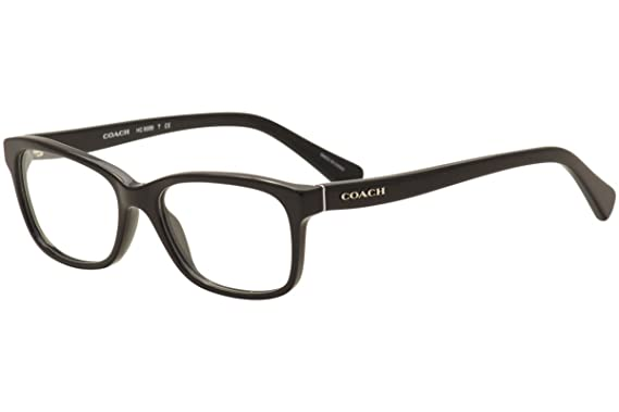 dc71e97d38 Amazon.com  Coach Women s HC6089 Eyeglasses Black 49mm  Clothing
