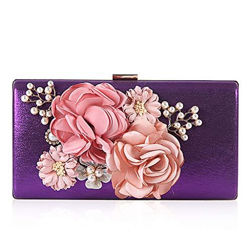pour Pochette Violet Violet Wa3TT600709 violet femme Wanfor qHwRExTH