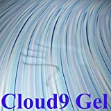 Cloud9 Gel Queen 2 Inch 100% Gel Infused Visco Elastic Memory Foam Mattress Topper
