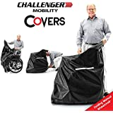 COVER for Folding Manual Wheelchair Vinyl Heavy Duty Weather Protection Lightweight