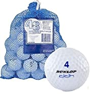 Assorted White Ball Mix in Mesh Bag (48-Pack)