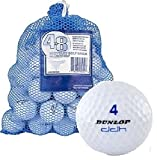 Assorted Ball Mix in Mesh Bag (48-Pack) White