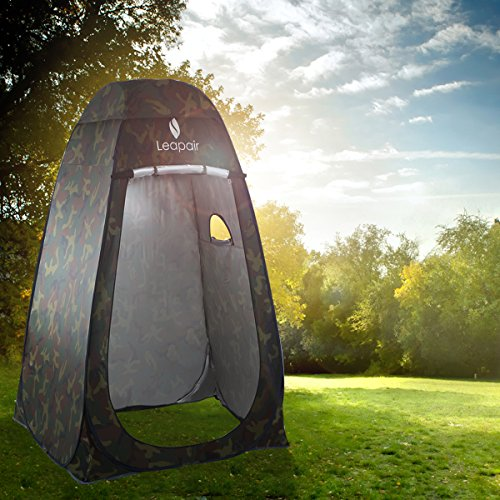 Wolfwise Pop Up Privacy Shower Tent Portable Outdoor Sun