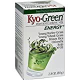Kyolic Kyo-Green Energy Powdered Drink Mix - 2 oz - Promotes healthy intestinal conditions and regularity - Gluten Free