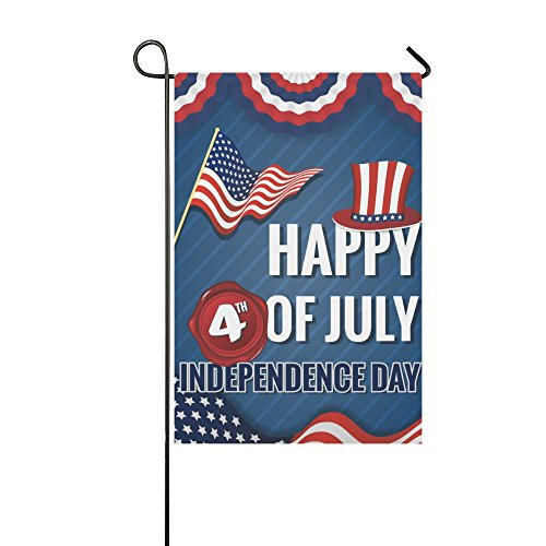 InterestPrint Happy 4th of July Independence Day Double Side
