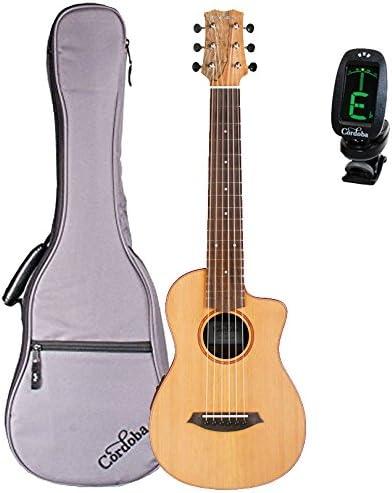 Cordoba Mini sm-ce Spalted arce – Guitarra acústica eléctrica ...