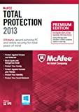 Software : McAfee Total Protection 1PC Family Protection Bundle 2013