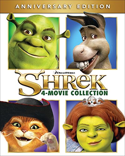 Link Lost Collection - Shrek 4-Movie Collection [Blu-ray]