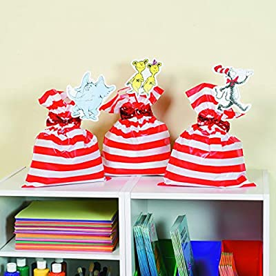 Fun Express Huge Red and White Stripe Plastic Favor 17