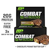 MusclePharm Combat Crunch Protein Bar, Multi-Layered Baked Bar,...